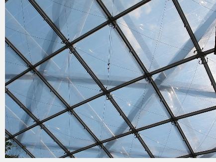 ETFE-Folien als Überdachung in Leipzig - neu gebaute Gondwanaland