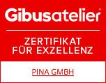 Auszeichnung Gibus Atelier Händler