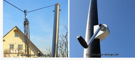 Winsch und Höheneinstellung per 3er Block für mehr Regen- und Sonnenschutz