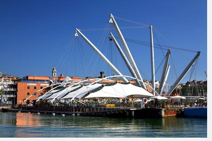 Membranbau Bigo in Genua von Renzo Piano