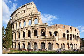 Das Kolosseum in Rom verfügte über ein speziell konstruiertes Sonnensegel