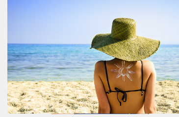 Sonnenschutz mit Textilien beugt Sonnenallergie vor