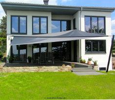 sonnensegel terrassen berdachung sonnenschutz f r. Black Bedroom Furniture Sets. Home Design Ideas