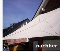 Sonnensegel reinigen - Imprägnierung nach Grundreinigung: