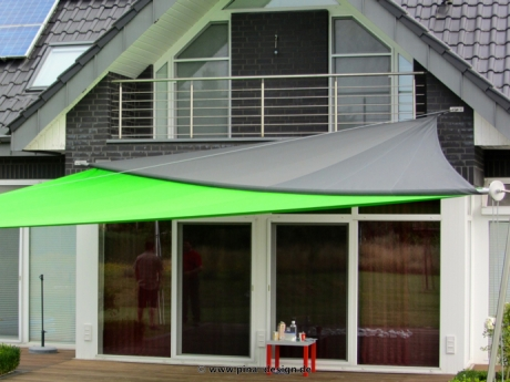 sonnensegel manuell aufrollbar flexibler sonnenschutz maritimes flair pina design. Black Bedroom Furniture Sets. Home Design Ideas