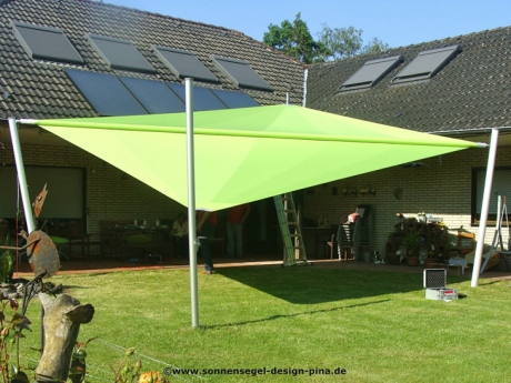 Sonnensegel elektrisch aufrollbar magisches flair - Sonnensegel im garten ...