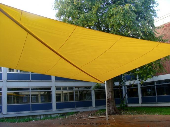 Sonnensegel Beckum Städtisches Gymnasium