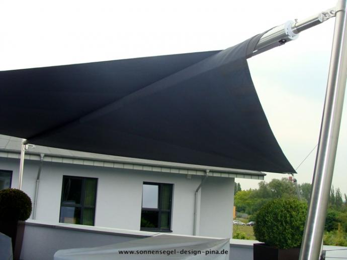 sonnensegel f r den balkon in premium qualit t pina design. Black Bedroom Furniture Sets. Home Design Ideas