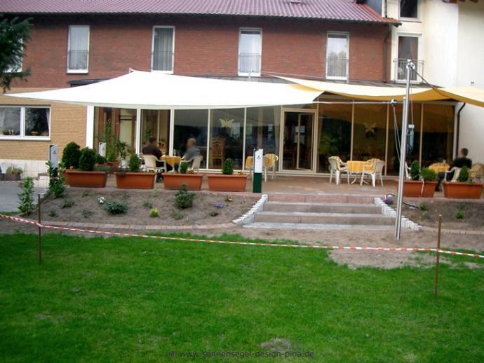 Paderborn I. Sonnensegel Gastronomieterrasse