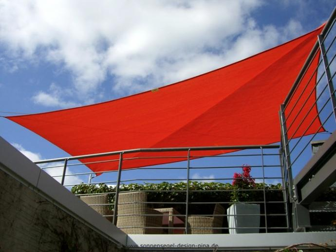 Geseke Sonnensegel Dachterrasse