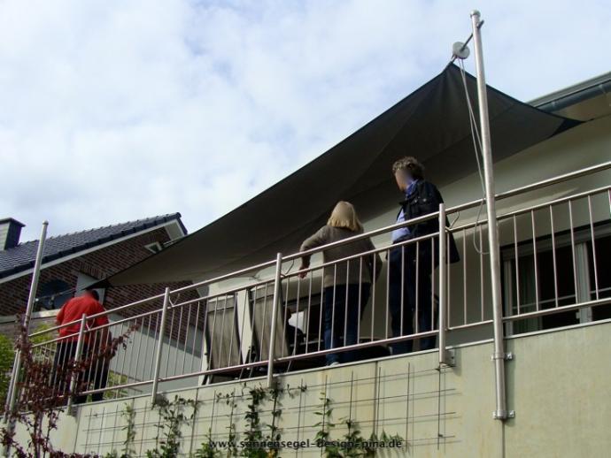Sonnensegel F R Den Balkon In Premium Qualit T Pina Design