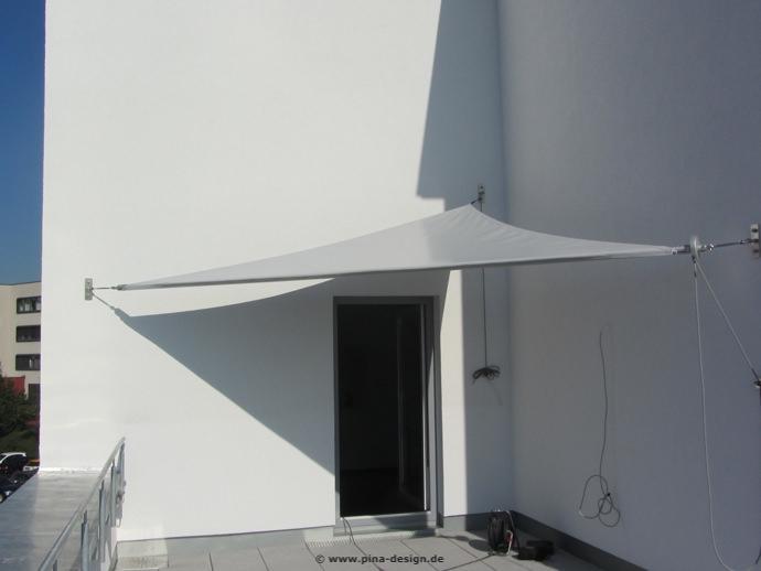Sonnensegel Fur Den Balkon In Premium Qualitat Pina Design