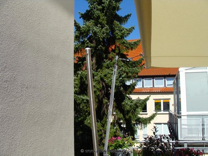 Sonnensegel Dachterrasse Exklusiver Sonnenschutz Pina