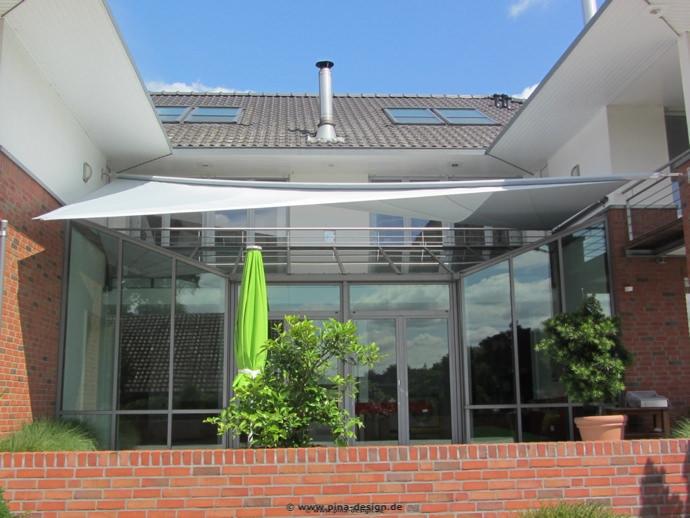 Wintergarten Ahaus sonnensegel terrasse sonne stilvoll genießen pina design