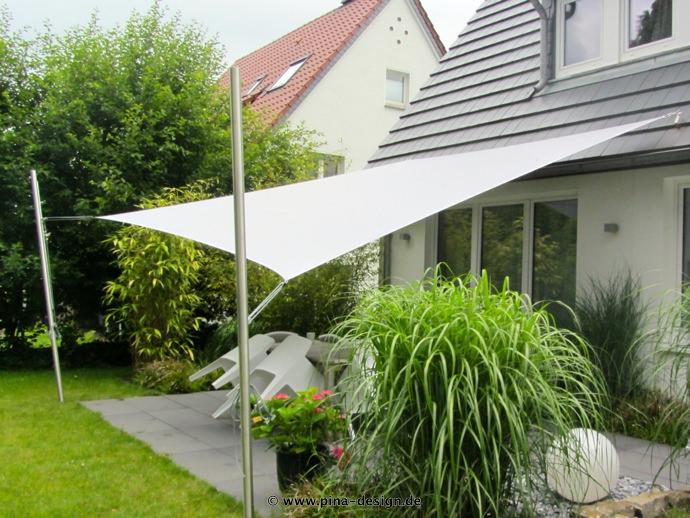 Sonnensegel Bielefeld sonnensegel festehend bilder beispiele und lösungen pina design