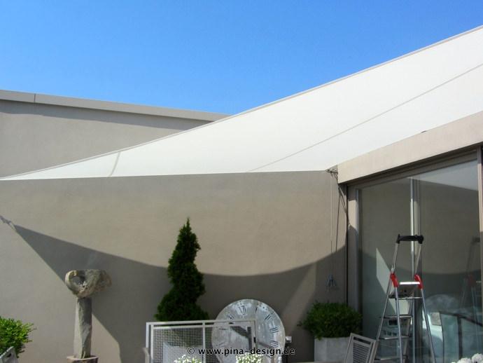 sonnensegel für den balkon in premium qualität pina design