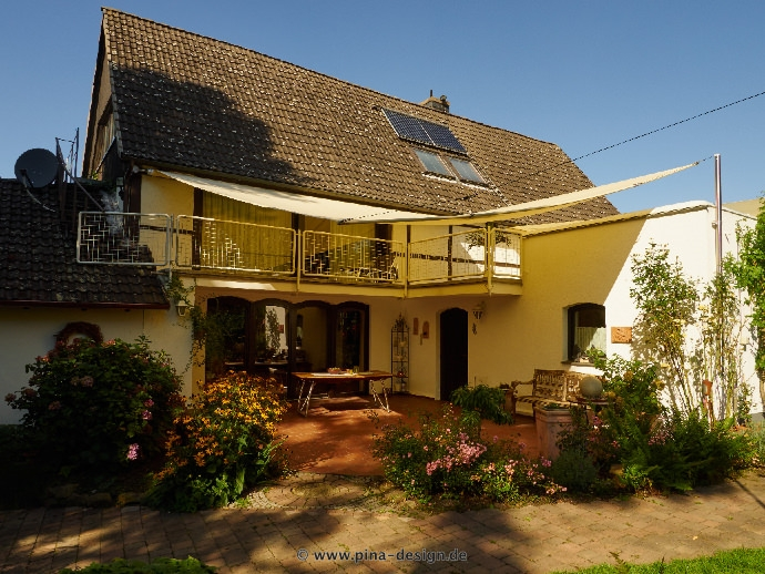 Sonnensegel Markise sonnensegel für den balkon in premium qualität pina design