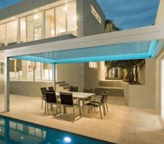 LED Spots rundumlaufend - für Lamellendach