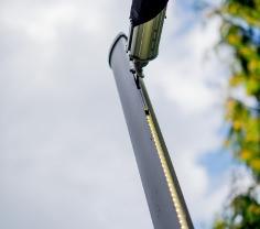 Led Effektlicht für elektrische Sonnensegel