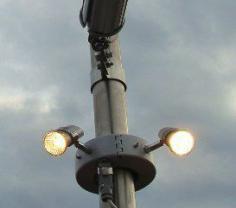 Licht am Mast