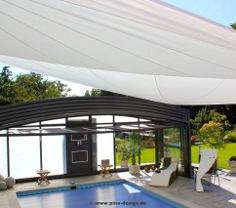 Sonnensegel automatisch von Pina Design®