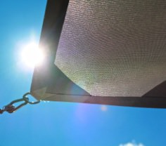 Wasserdichtes Sonnensegel - Sunworker Cristal