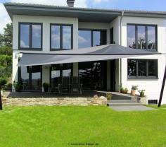 Sonnensegel elektrisch maritimo über Terrass von Pina Design®