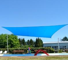 Sonnensegel Freibad Pina Design®