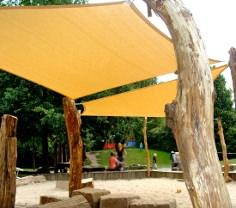 Sonnensegel Kindergarten von Pina Design®
