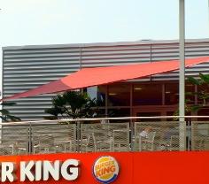 Sonnensegel Restaurant von Pina Design®