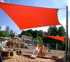 Sonnensegel Schule von Pina Design®