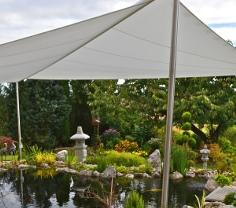 Sonnensegel für den Teich von Pina Design®