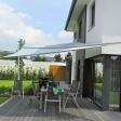 Sonnensegel aufrollbar auf einer Terrasse in Warendorf