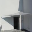 Ratingen - kleines Sonnensegel auf Balkon/ Dachterrasse