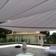 Zwei Sonnensegel - elektrisch - auf Mallorca über Dachterrasse