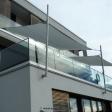 2 Sonnensegel feststehend Dortmund 2M /2W VII. in elfenbein über einen Balkon