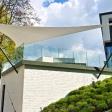 Münster Ganzjahressegel – Textile Sonnensegel Architektur auf einer Terrasse