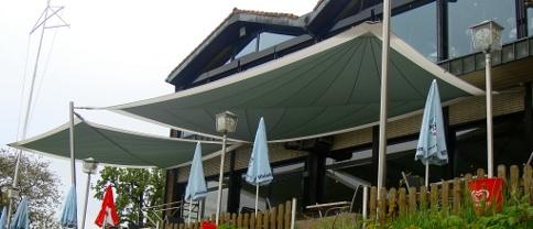 Sonnensegel Gastronomie von Pina Design®