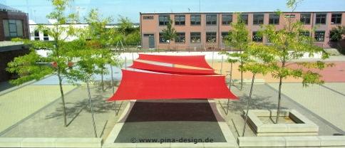 Sonnensegel Gewerbe von Pina Design®