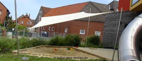 Sonnensegel Spielplatz von Pina Design®