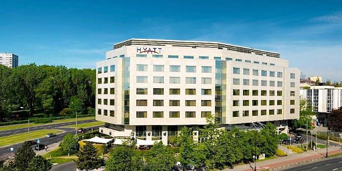 Hotel Hyatt in Warschau- repräsentativer Chic und exklusives Ambiente.